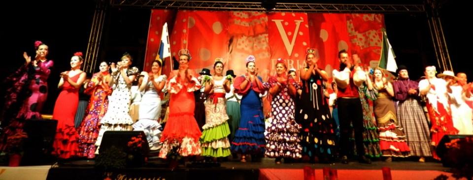 01 Gala Clausura Volantes de Compás V Feria Abril Las Palmas de Gran Canaria 2012