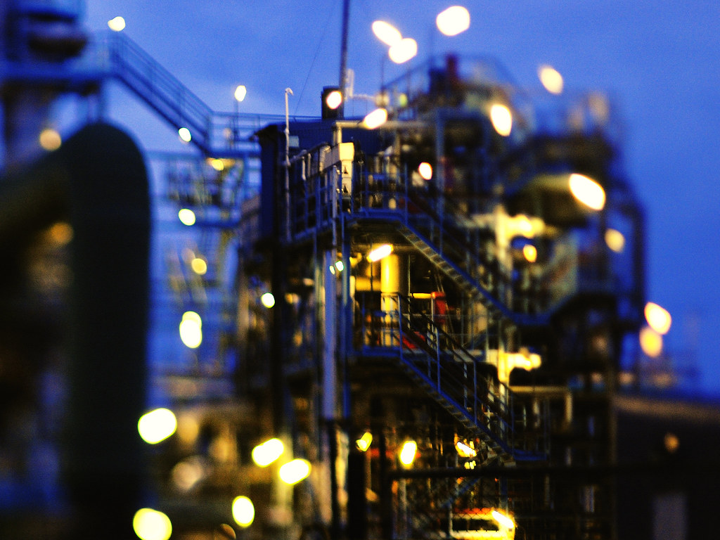 World Of Tanks Hd Wallpaper Oil Refinery Freelensed With A Pentax 67 105mm Lens On A
