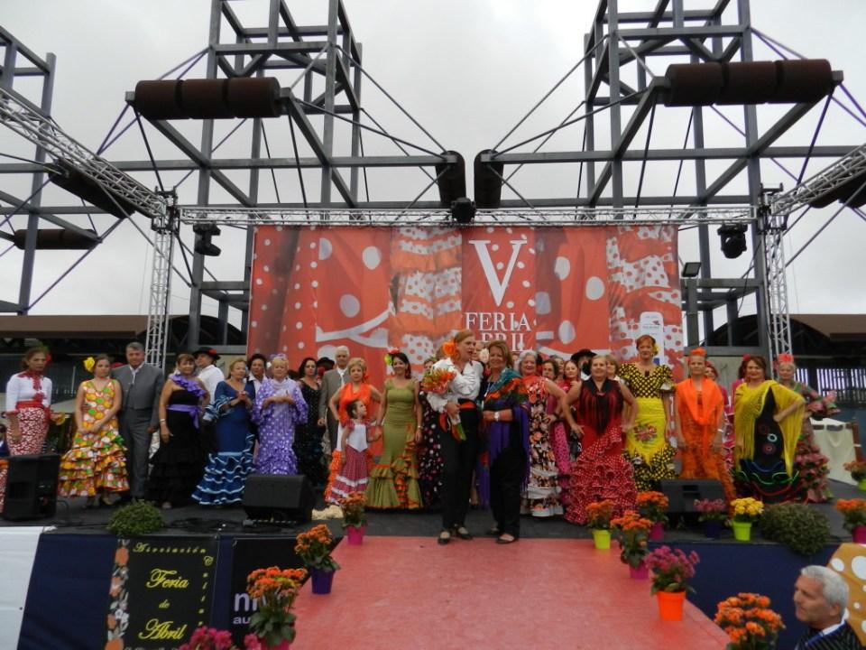 Pasarela andaluza V Feria Abril Las Palmas de Gran Canaria 2012 23