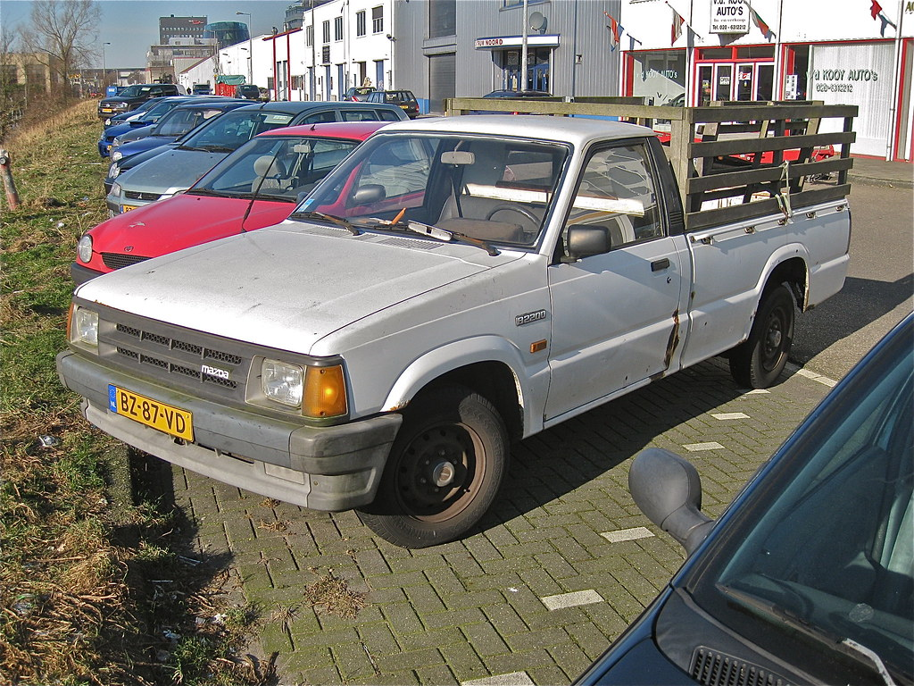 hight resolution of  classicsonthestreet mazda b2200 2 2d pick up 1988 by classicsonthestreet