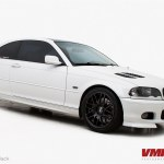 Vmr Wheels 18 Matte Black V718 On Alpine White Bmw E46 Flickr