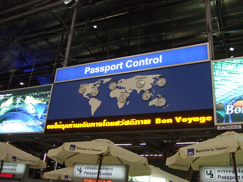 Towards Passport Control