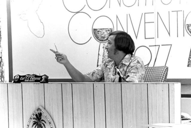 Senator Carl Gutierrez