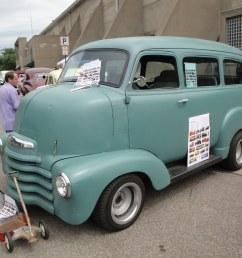 1950 chevrolet coe suburban cab over engine  [ 1024 x 768 Pixel ]