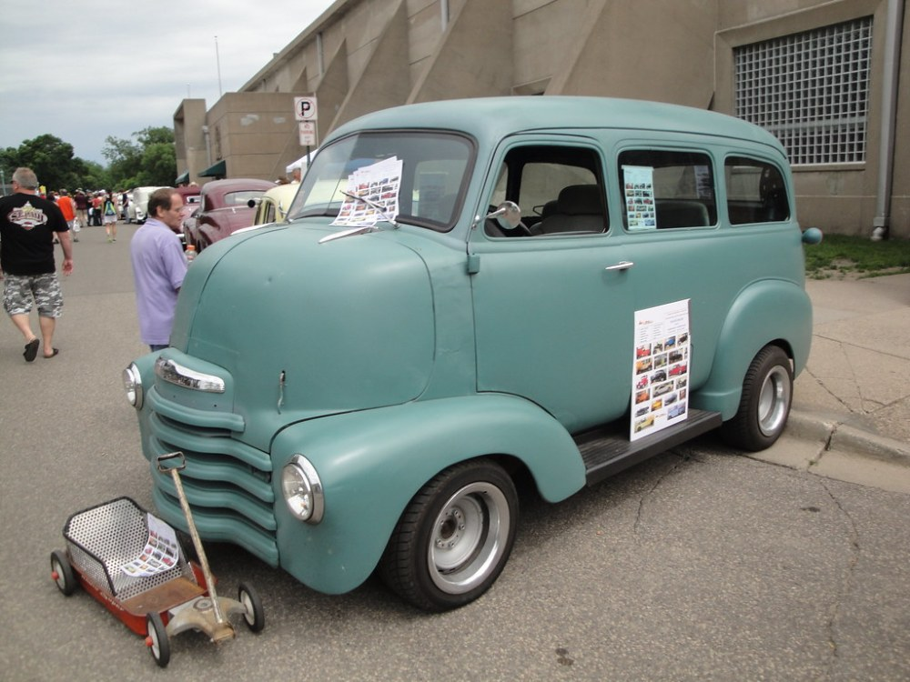 medium resolution of 1950 chevrolet coe suburban cab over engine