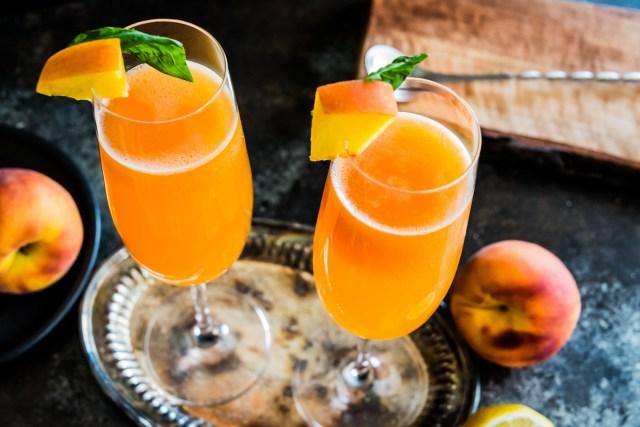 sparkling summertime cocktail