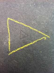The inner triangle