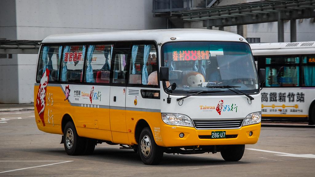 新竹市公車88路(新通客運)海格 Higer KLQ6759@高鐵新竹站   LF Zhang   Flickr