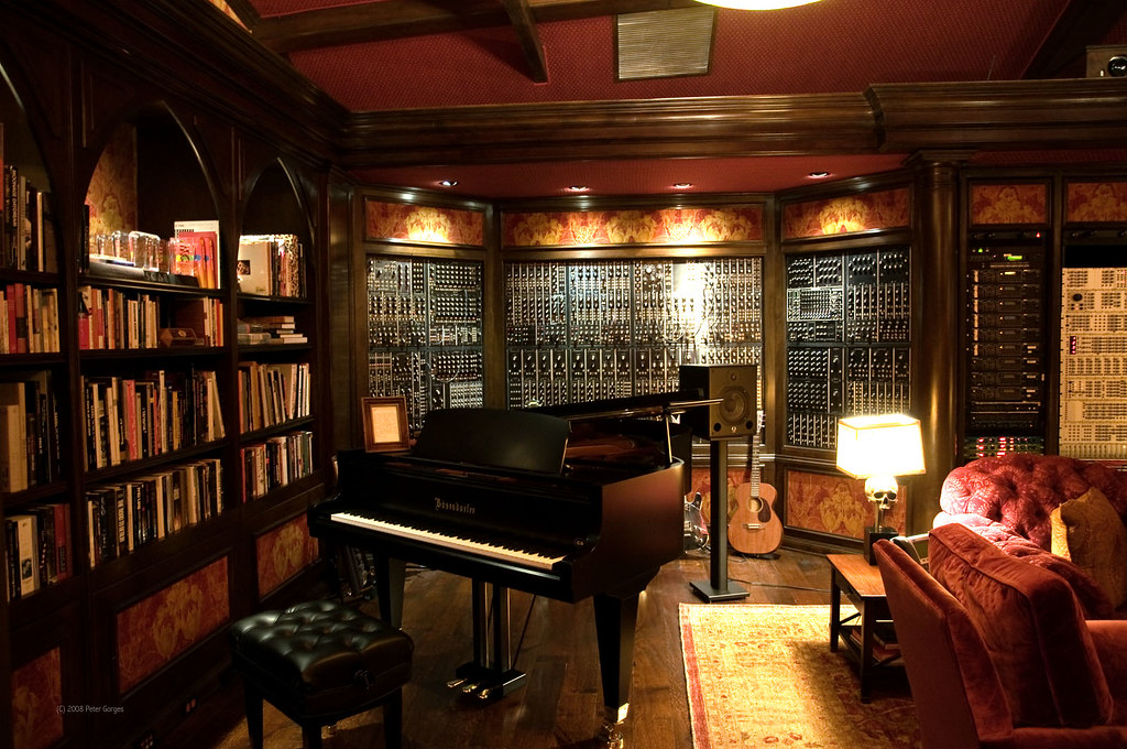 Hans Zimmer S Studio I Just Found This Photo I Took