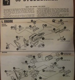 1953 studebaker loewy coupe instructions sheet double whammy amt kit by pmadsidney [ 774 x 1023 Pixel ]