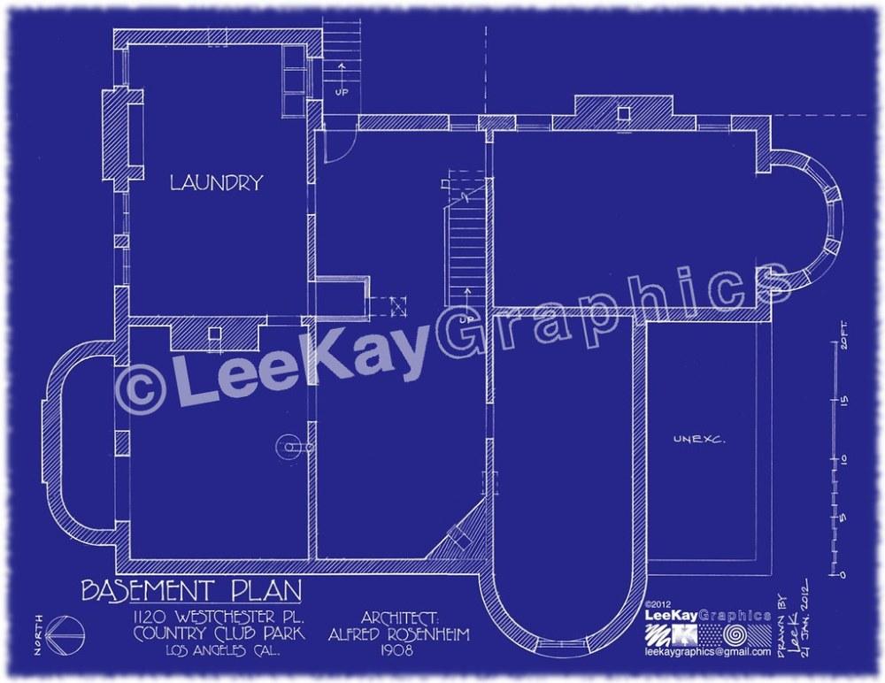 medium resolution of  1120 westchester pl basement plan by leekaygraphics