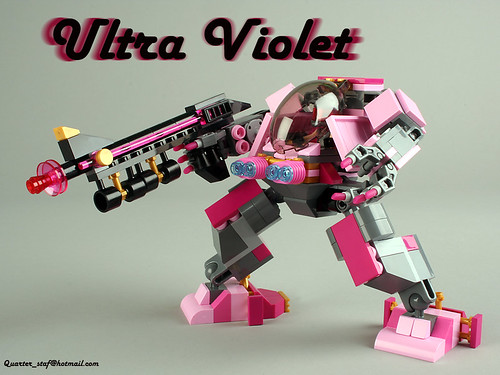 Ultra-Violet – lego mech