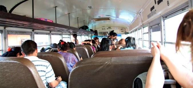 Bus to Corozal
