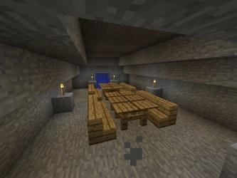 minecraft room dining