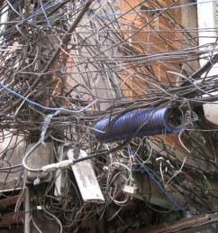 crazy wiring in the favelas rio de janeiro [ 1024 x 768 Pixel ]