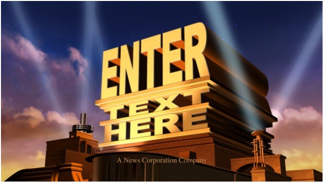 make you a 20th Century FOX Hollywood style video INTRO