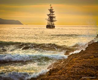 Lady Washington and Hawaiian Chieftain
