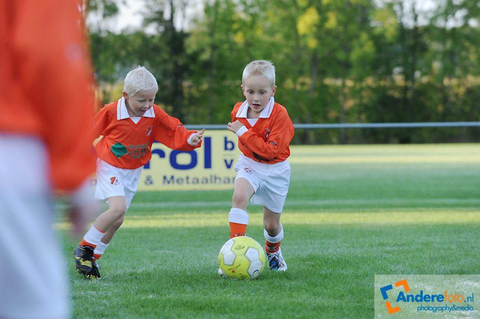 kindervreugde in de voetbalsport