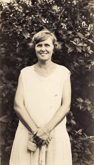 Gertrude Hornbostel on Guam, 1926