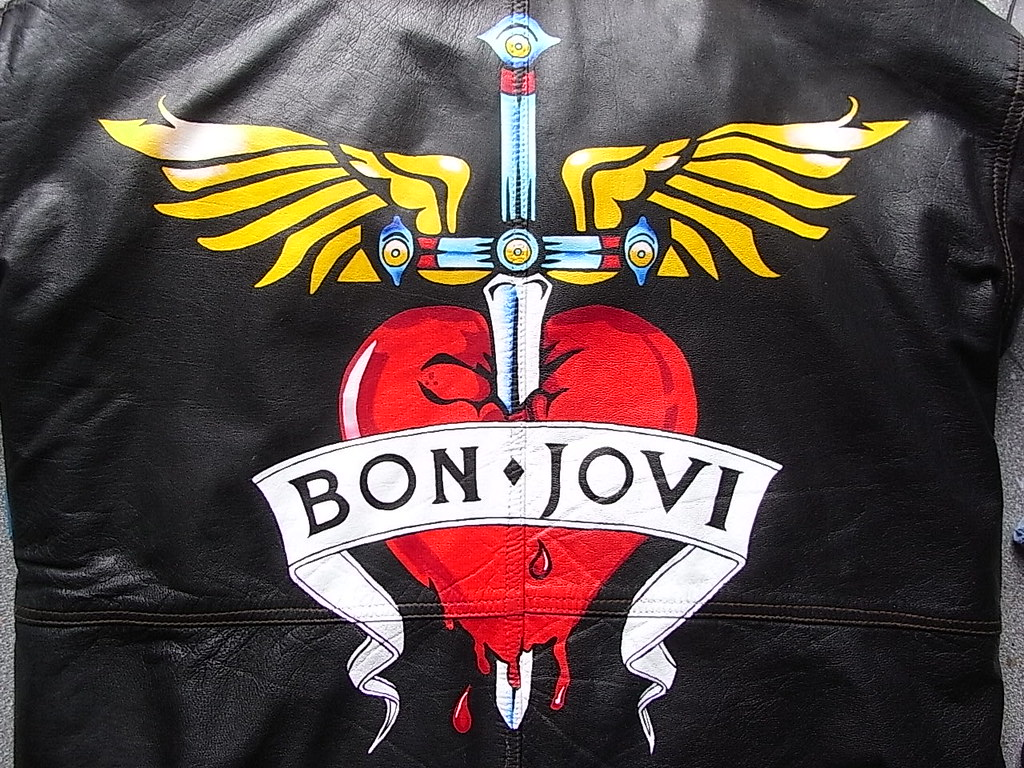 custom painted bon jovi