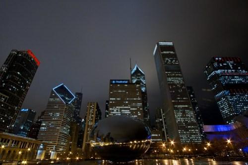 Chicago at Night 9