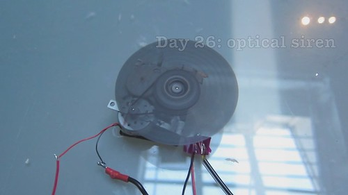Instrument-a-day 26: optical siren