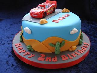 9 cars birthday cakes for boys photo boy car cake. Disney Cars Cake Cake For A Little Boy Who Loves The Disn Flickr