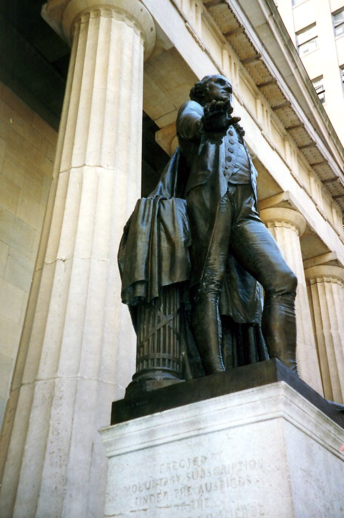 Nyc Federal Hall Washington Statue The Statue Of
