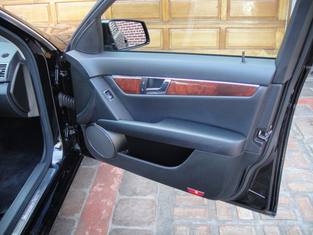 medium resolution of  2010 mercedes c300 4matic interior door front right