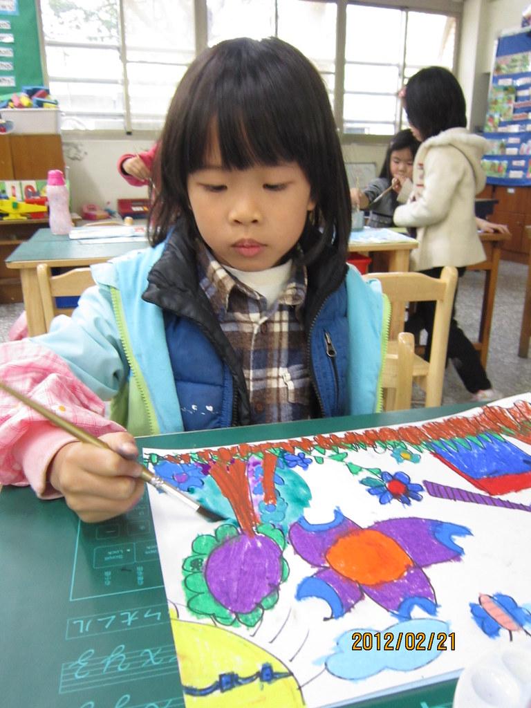 實驗小學雙語部課後美術班 | 2012-2-21 體驗課 | 昭穎 余 | Flickr