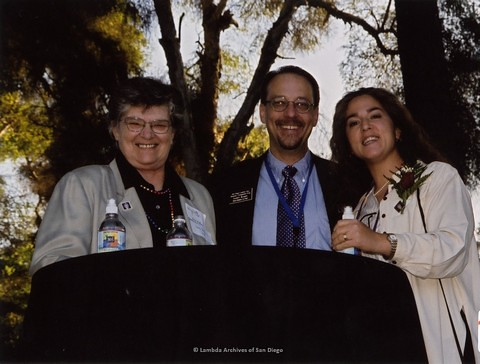 San Diego LGBTQ Pride Rally, 2002