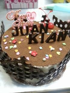 Half kg fresh cream cake