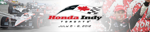 My shot used on Honda Indy Toronto website