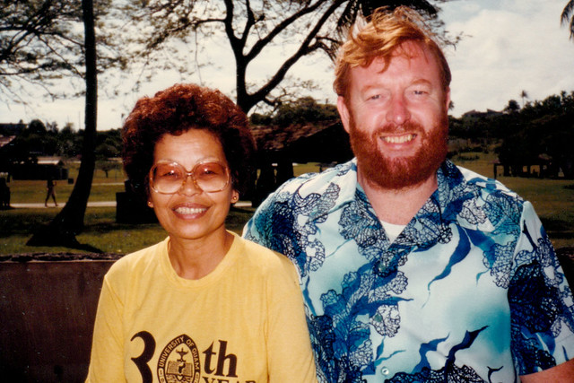 Rosa Roberto and Lee Carter, 1982