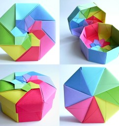 rainbow octagonal flower top box tomoko fuse 120g m pap u2026 flickrrainbow [ 1024 x 973 Pixel ]