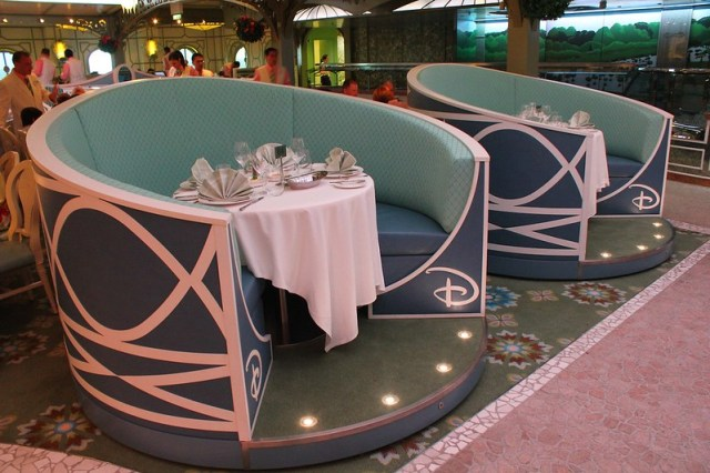 Enchanted Garden restaurant - Disney Fantasy