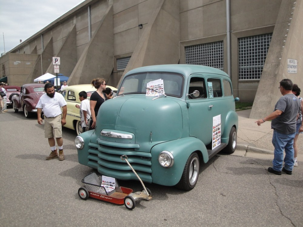 medium resolution of  1950 chevrolet coe suburban cab over engine by crown star images
