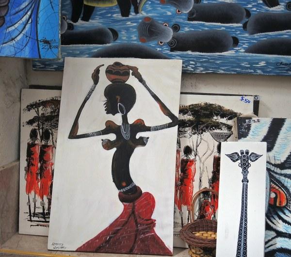 Tanzania Zanzibar African Art Ldem St