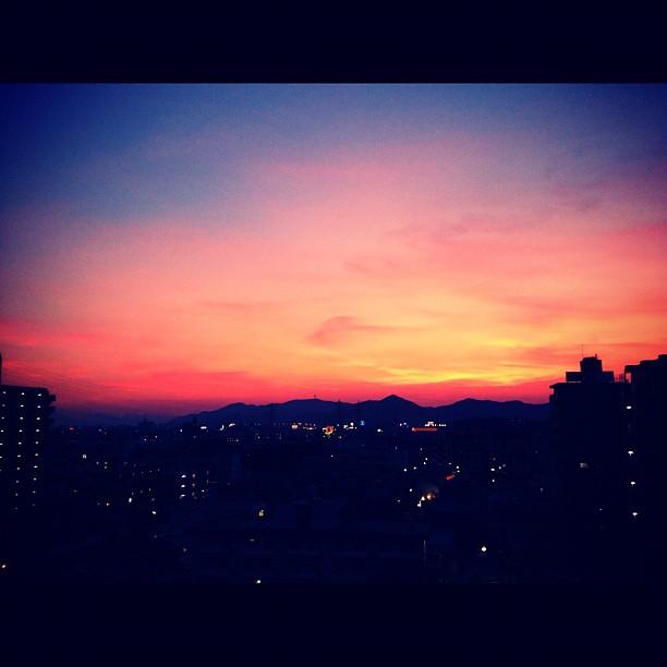 お空が真っ赤っか~ | syu01 | Flickr
