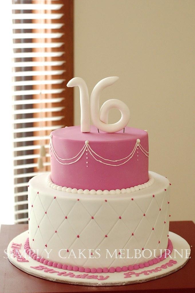 16th birthday cake in