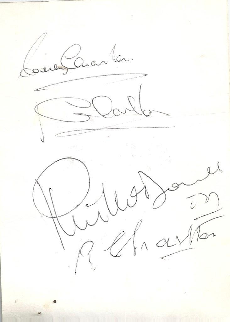 1966 INVITATION TO JIMMY MURPHY TO HONOUR THE CHARLTON BRO