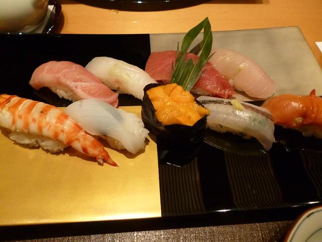 Assorted Sushi @Ginza Kyubey, Ginza, Tokyo