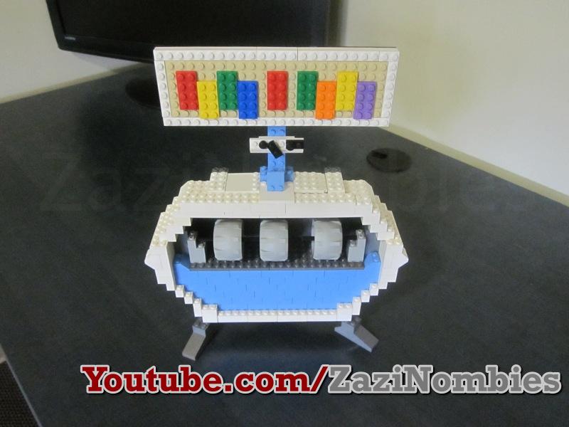 lego pack a punch machine a pack a