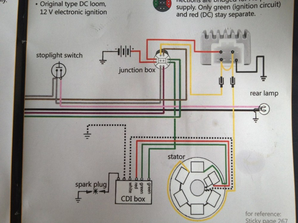 medium resolution of  lambretta wiring diagram with 12v upgrade by skywalker5446