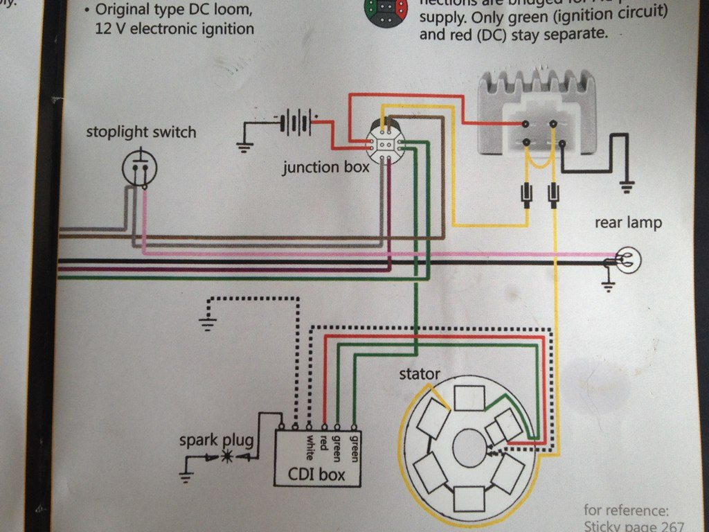 hight resolution of  lambretta wiring diagram with 12v upgrade by skywalker5446