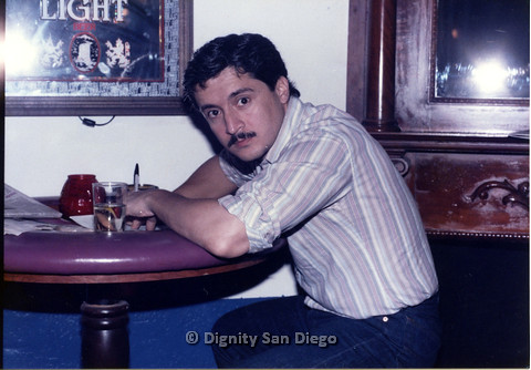 P103.083m.r.t Dignity San Diego: Man with mustache staring at camera