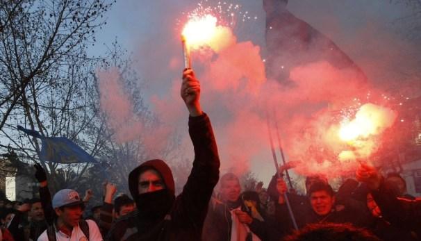 Violent Protest in Santiago de Chile | Students take part in… | Flickr