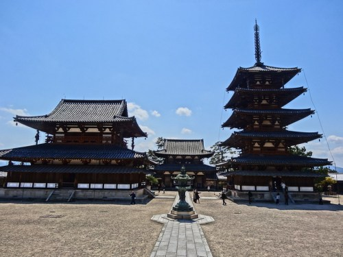 3 Oldest Wooden Buildings in the World - Horyuji Temple