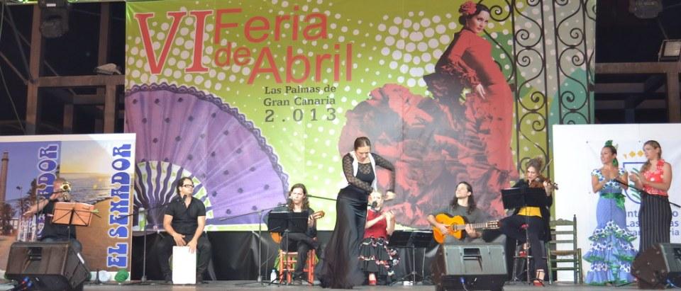 Gala Clausura Grupo Reynier Mariño acompañado por Amparo Navarro VI Feria Abril 2013 Las Palmas de Gran Canaria DSC_0587