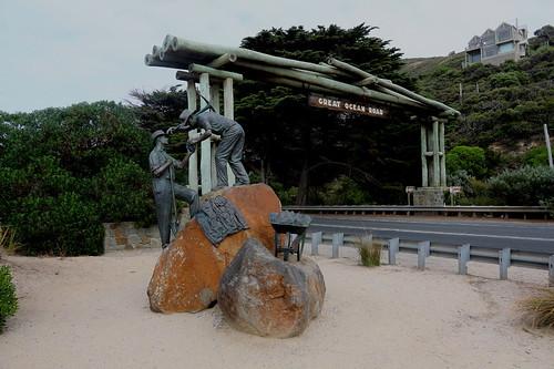 Memorial Arch, Great Ocean Road, Victoria, Australia